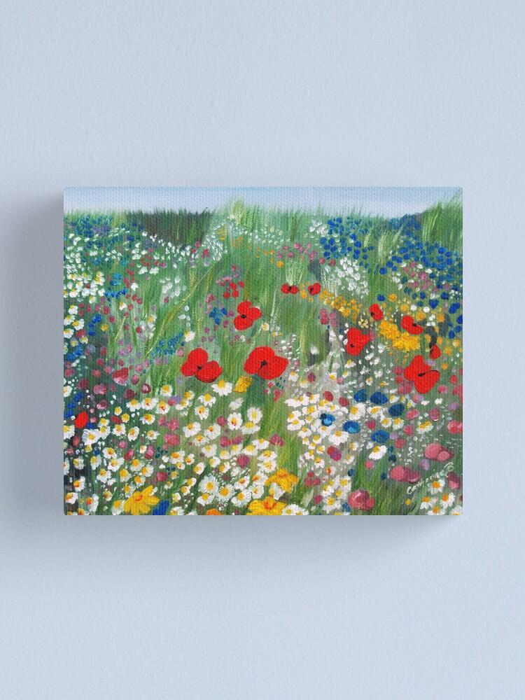 Alternate view of Floral Treasures Canvas Print