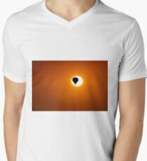 Escape to the sun. Men's V-Neck T-Shirt