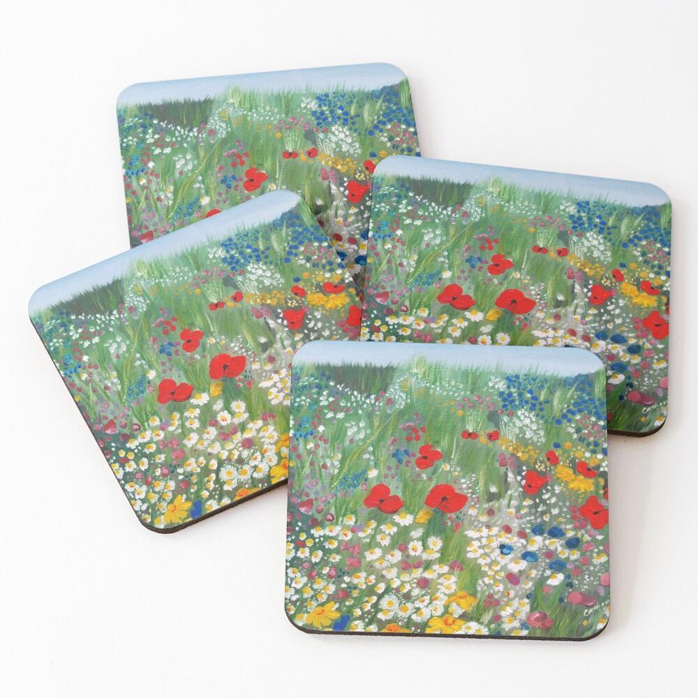 Floral Treasures Coasters (Set of 4)