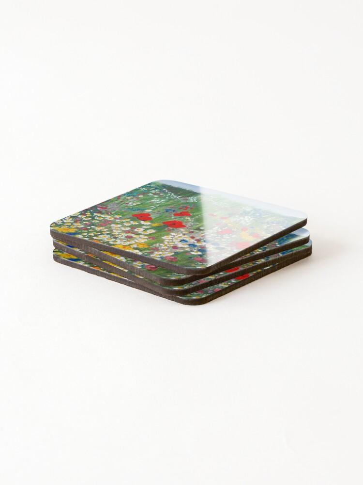 Alternate view of Floral Treasures Coasters (Set of 4)