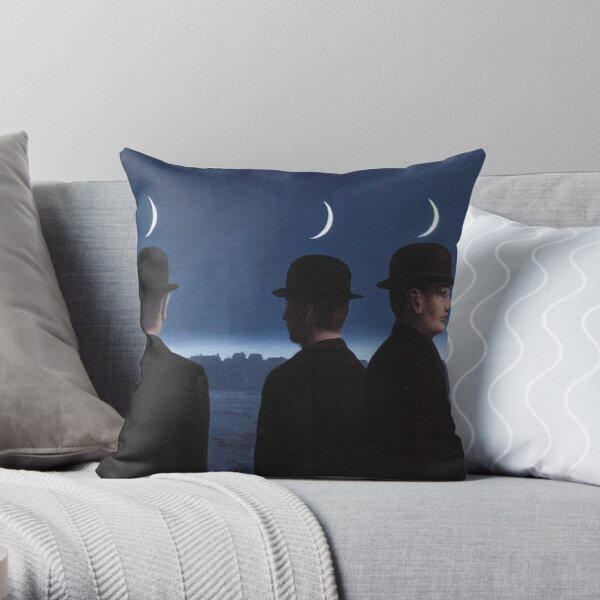 The Mysteries of the Horizon - Rene Magritte Throw Pillow