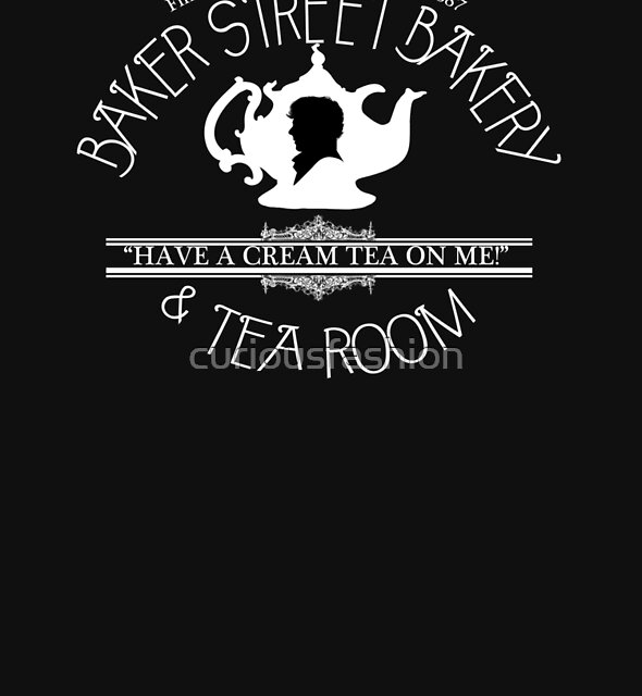 "BBC Sherlock ""Cream Tea"" Bakery & Tea Shop (Dark) by curiousfashion"