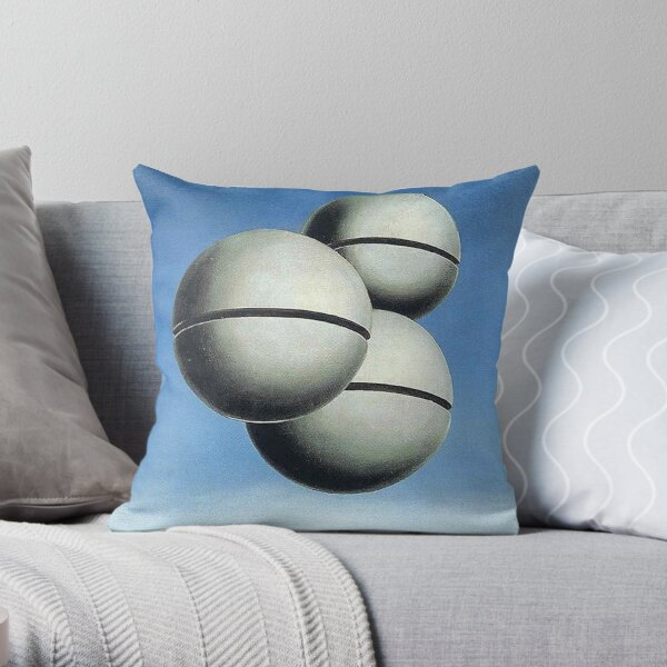 The Voice of Space - Rene Magritte Throw Pillow
