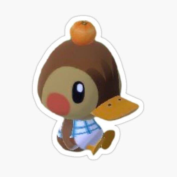 Animal Crossing Duck Sticker