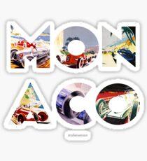 Pegatina Gran Premio de Mónaco