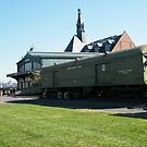 Jersey City, New Jersey, Central Railroad Terminal, Liberty State Park by lenspiro