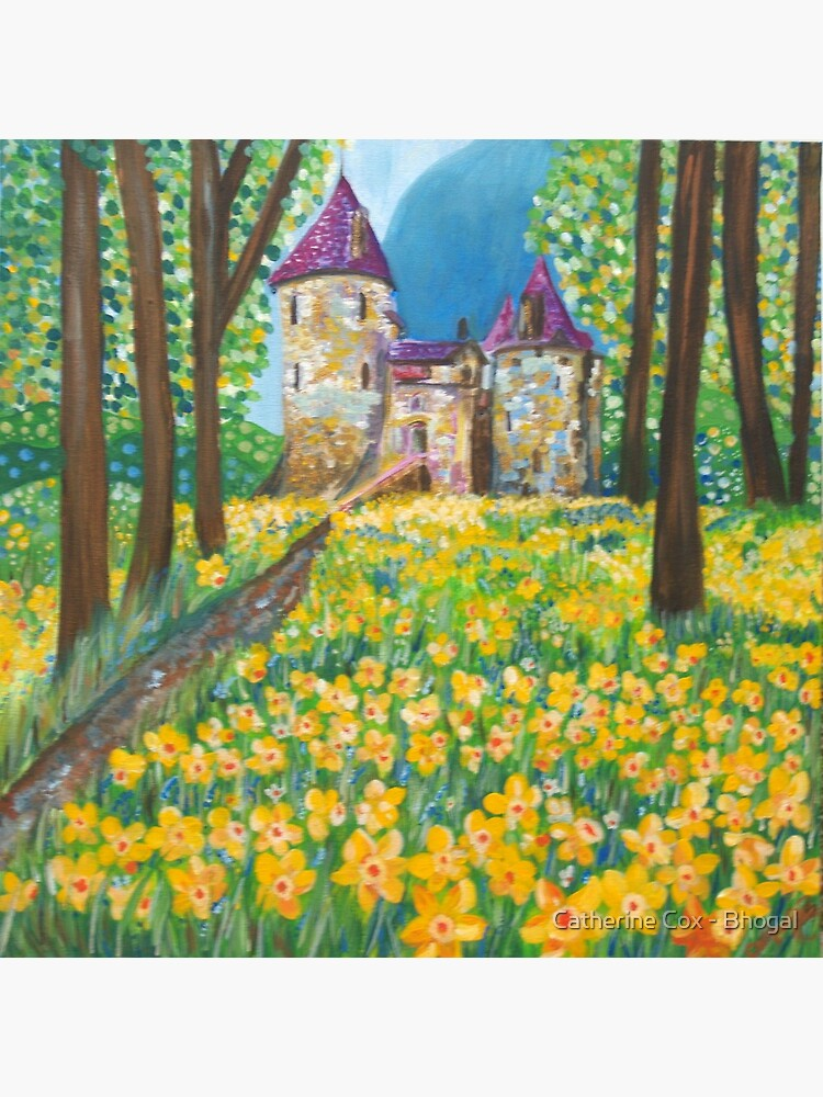 Castell Coch in the Spring by Starsthatshine