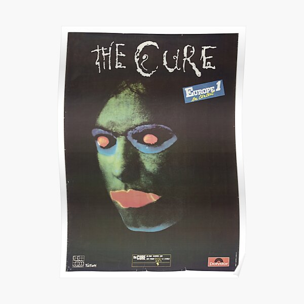 The Cure- Europe I Poster