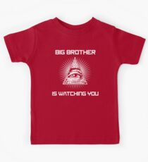 Big Brother Is Watching You Illuminati Eye T Shirt Kids Clothes