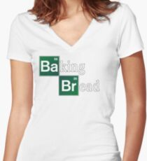 Baking Bread (Breaking Bad parody) - Classic Women's Fitted V-Neck T-Shirt