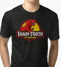 Sharp Tooth T-Shirt (Jurassic Park) Tri-blend T-Shirt