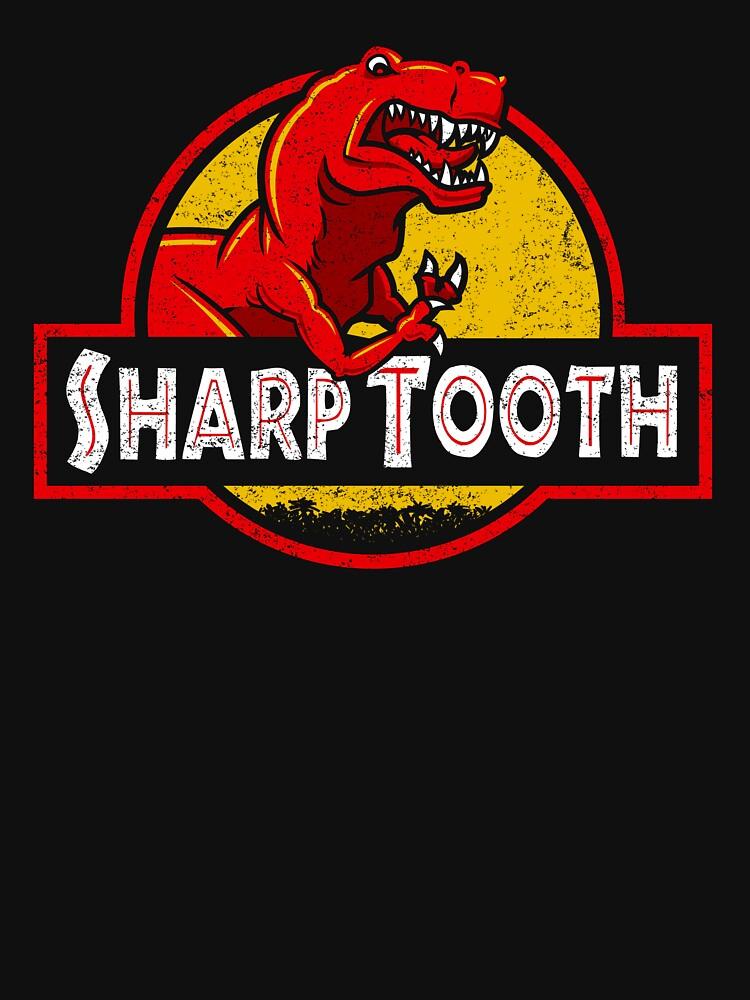 Sharp Tooth T-Shirt (Jurassic Park) | Unisex T-Shirt