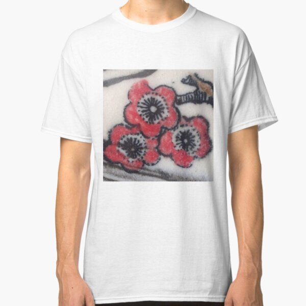 Red Blossoms Classic T-Shirt