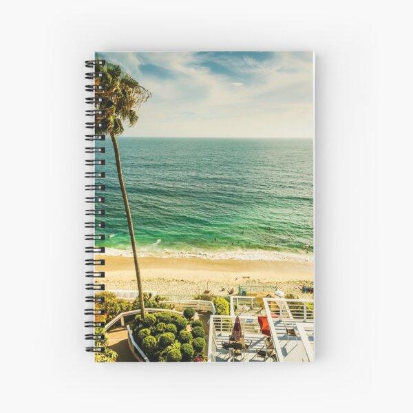 Fun Summer Laguna Beach 5530 Spiral Notebook