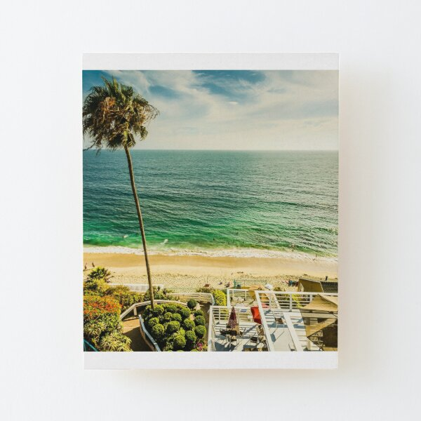Fun Summer Laguna Beach 5530 Wood Mounted Print