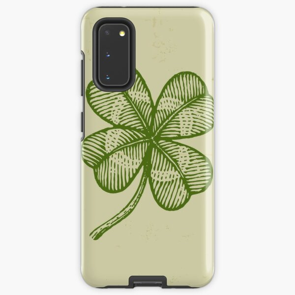 Vintage lucky clover Samsung Galaxy Tough Case