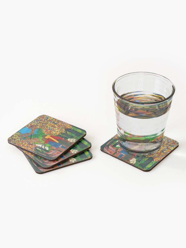 Alternate view of Hope Coasters (Set of 4)