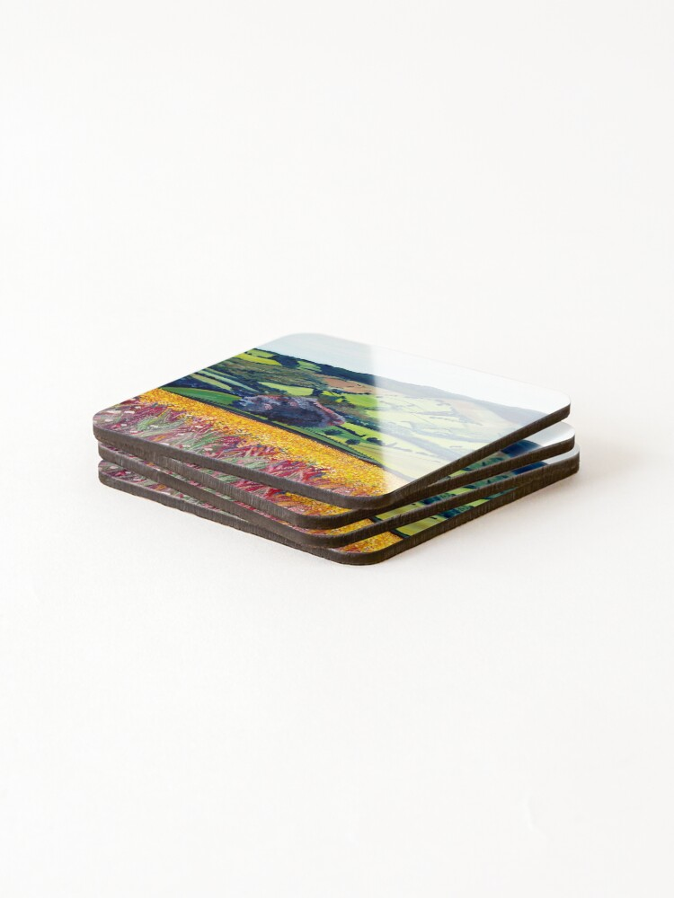 Alternate view of Machen and beyond Coasters (Set of 4)