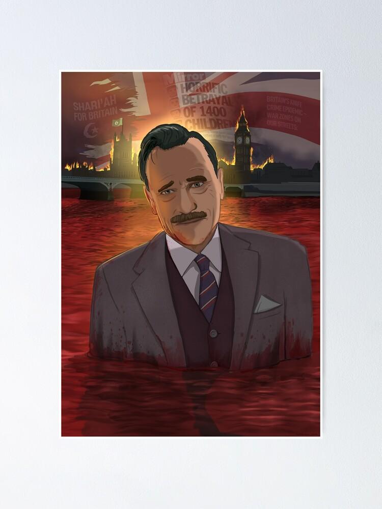 Alternate view of John Enoch Powell Poster