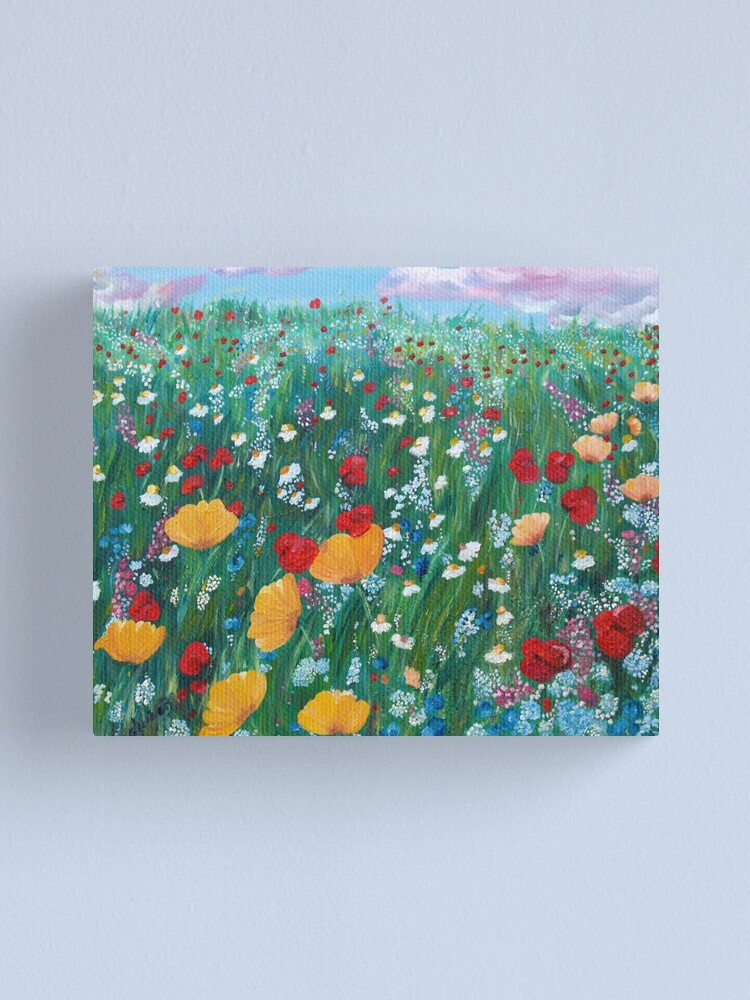 Alternate view of Meadow of love Canvas Print
