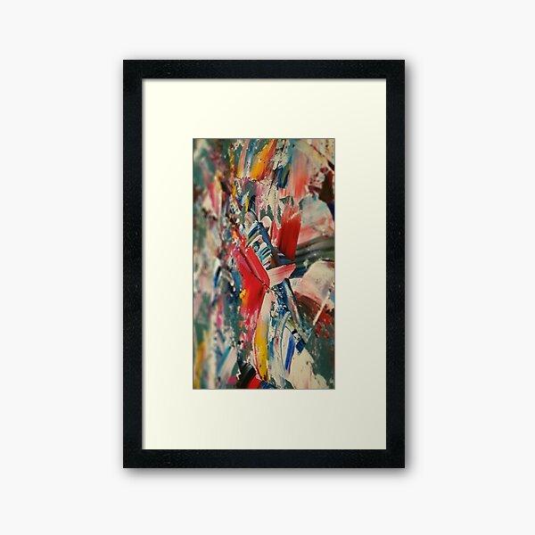 Colour Dance Framed Art Print
