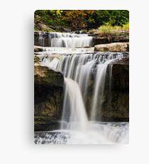 Upper Cataract Falls Section Canvas Print