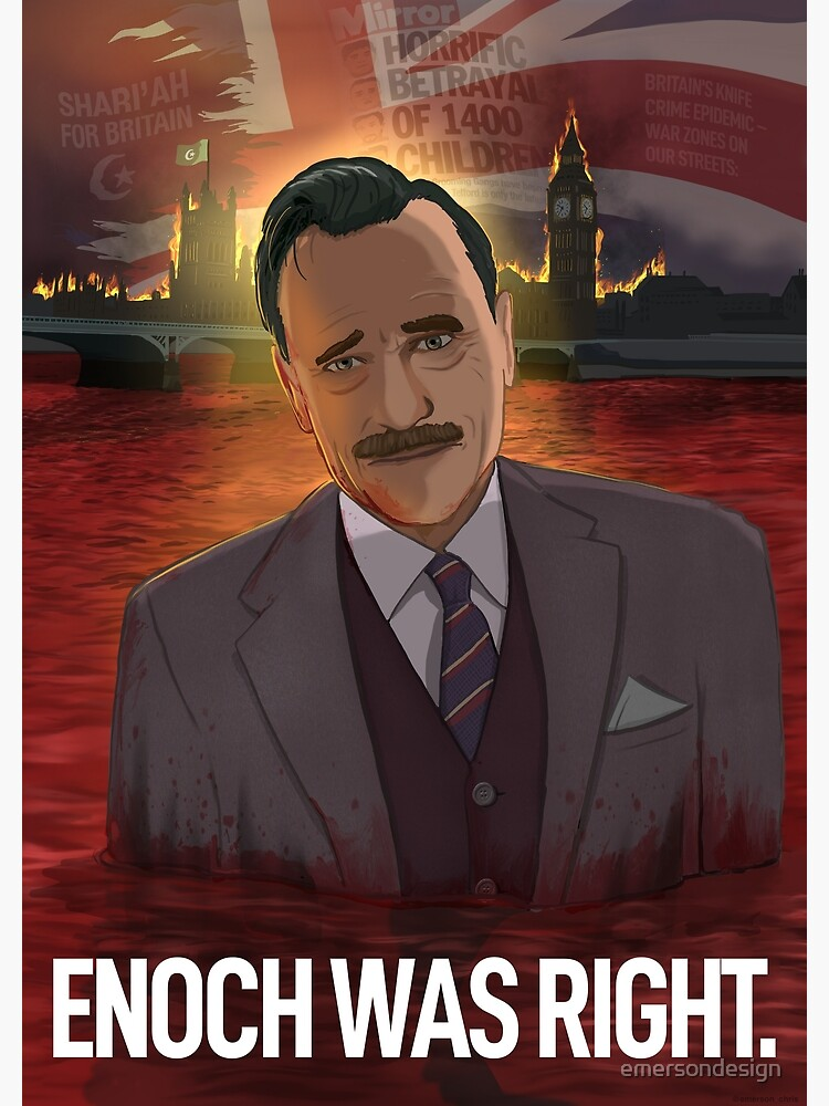 Enoch Powell (With Title) by emersondesign