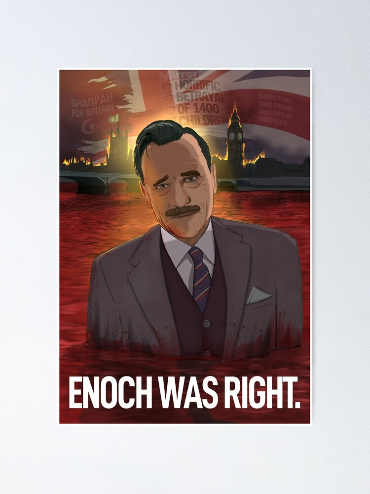 Alternate view of Enoch Powell (With Title) Poster