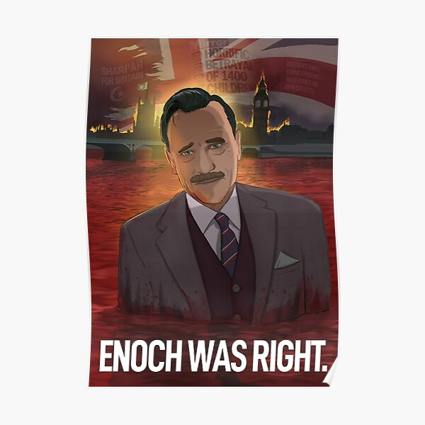 Enoch Powell (With Title) Poster