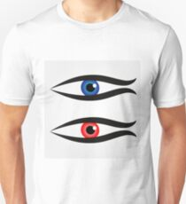 Abstract fish with large eyeball inside  T-Shirt