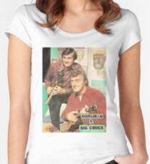 Hoolihan und Big Chuck T-Shirt Tailliertes Rundhals-Shirt