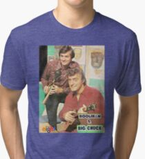 Hoolihan and Big Chuck T-shirt Tri-blend T-Shirt