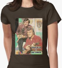 Hoolihan and Big Chuck T-shirt Women's Fitted T-Shirt