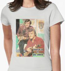 Hoolihan and Big Chuck T-shirt Women's Fitted T-Shirt