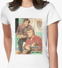 Hoolihan and Big Chuck T-shirt Womens Fitted T-Shirt