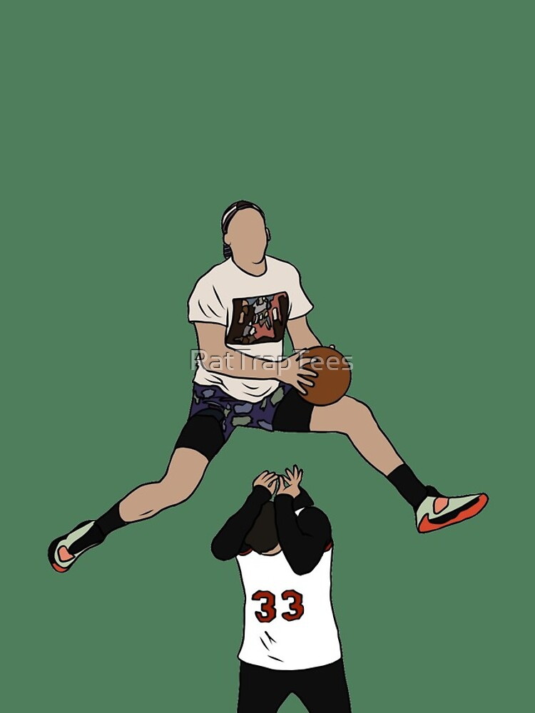 Pat Connaughton Dunk Over Christian Yelich by RatTrapTees