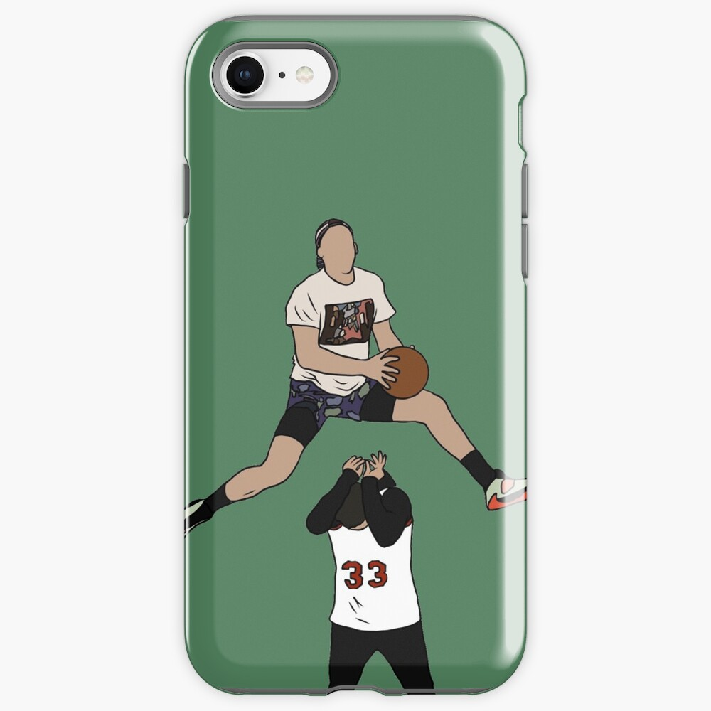 Pat Connaughton Dunk Over Christian Yelich iPhone Case & Cover