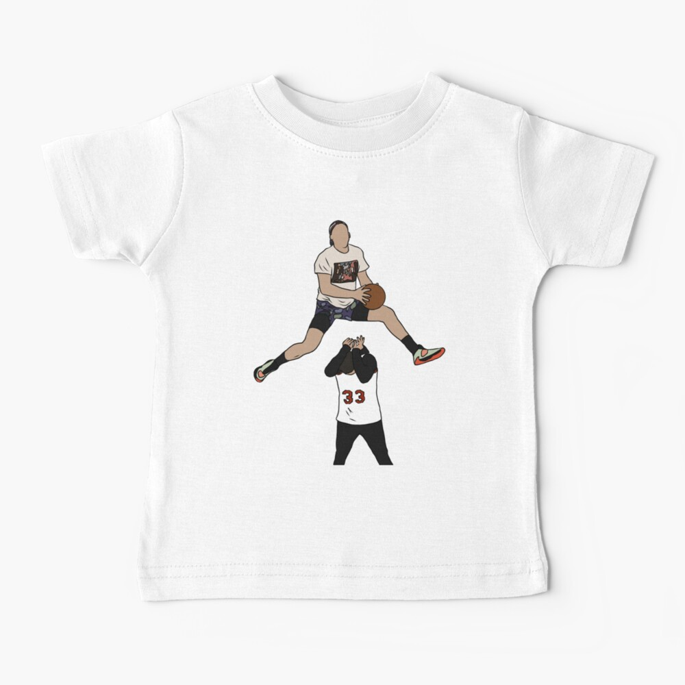 Pat Connaughton Dunk Over Christian Yelich Baby T-Shirt