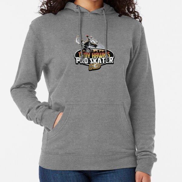 Tony Hawk Light Hoodie Sweatshirt~BLACK Floral~Skateboard~3 Sizes~FREE Shipping