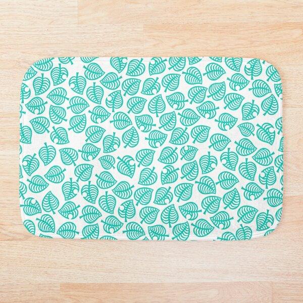 Nook Leaf White Bath Mat