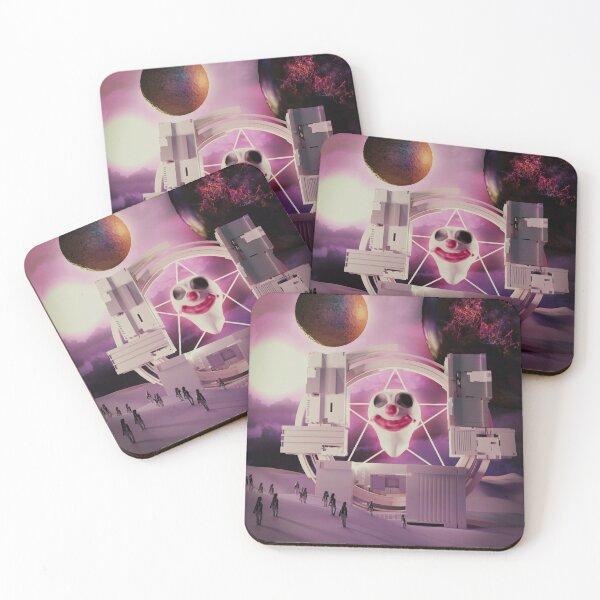Clown gate Coasters (Set of 4)