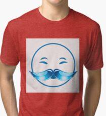 Joyful Santa  Tri-blend T-Shirt