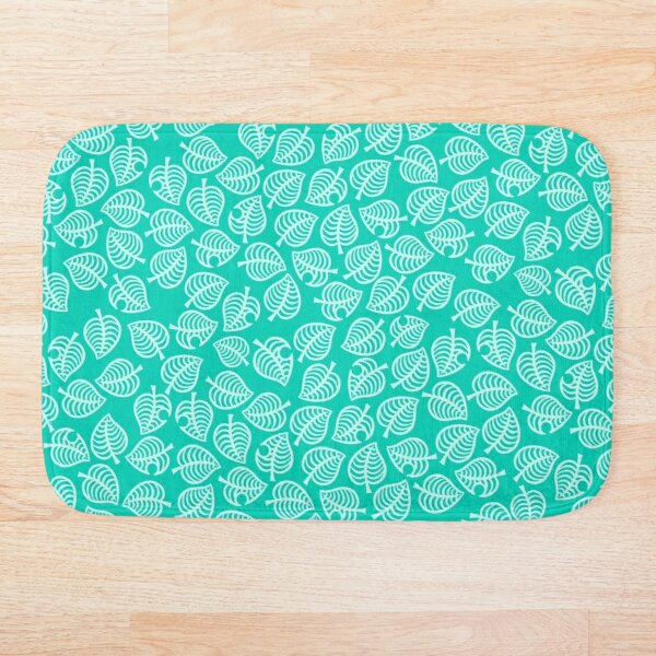 Nook Leaf Blue Bath Mat