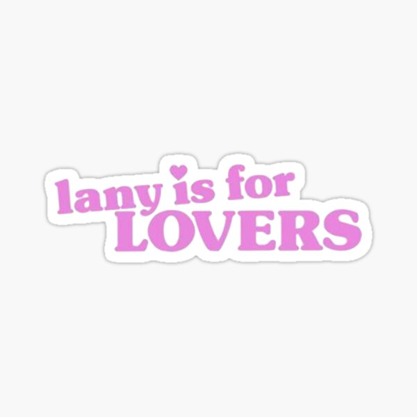 lany is for lovers Sticker