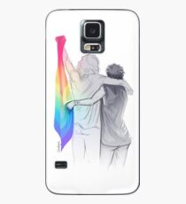 The Rainbow Flag: 'I would if I could… not yet, but soon.' Case/Skin for Samsung Galaxy