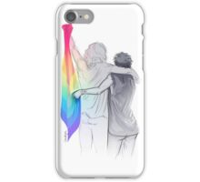The Rainbow Flag: 'I would if I could… not yet, but soon.' iPhone Case/Skin