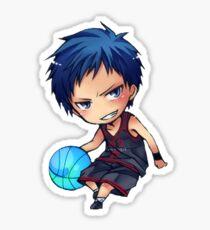 kuroko no basket aomine blue ball (chibi) Sticker