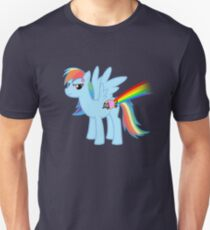Rainbow Dash's New Cutie Mark Unisex T-Shirt