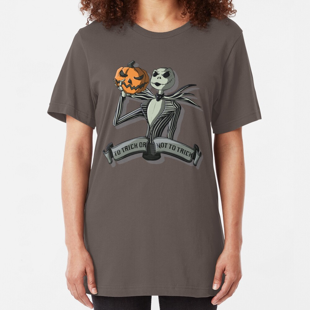 To Trick or Not To Trick Slim Fit T-Shirt