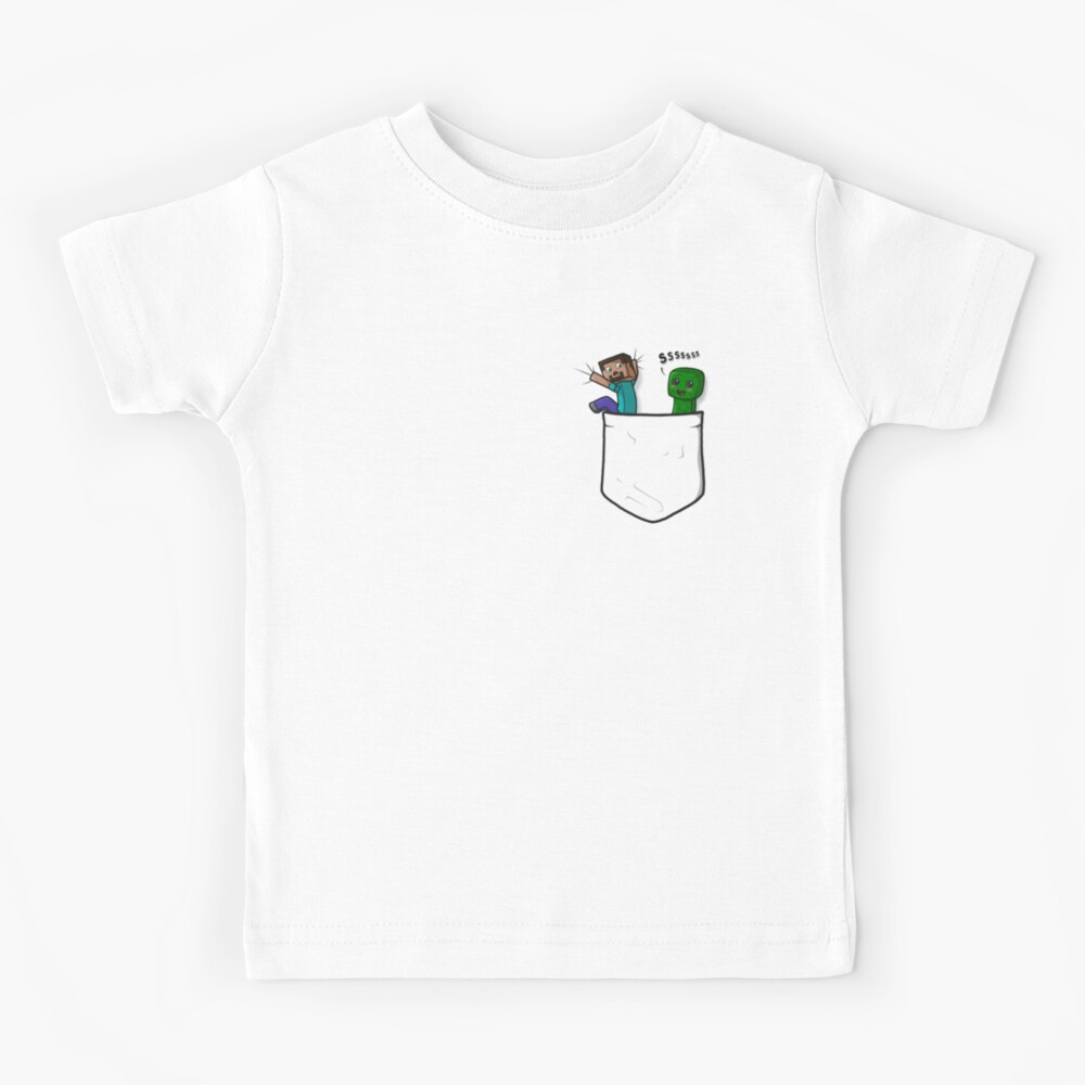 Little Pocket Creeper Kids T-Shirt